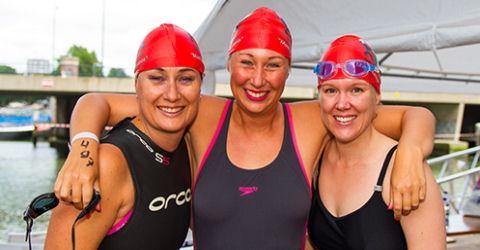 010 City Swim voor het Daniel den Hoed Fonds