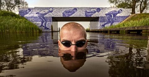 Van der Weijden doet nieuwe poging Elfstedenzwemtocht