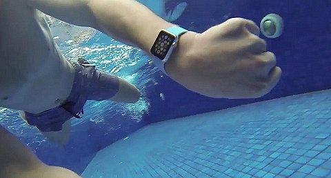 Met een Apple Watch een half uur onderwater