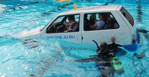 Cursus auto te water kan het verschil maken