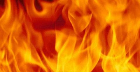 In de brand en weer uit de brand