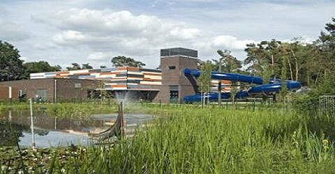 Thermische energie uit afvalwater verwarmt zwembad