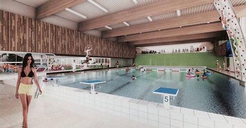Een nieuw zwembad voor iedereen