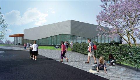Sportboulevard Hardenberg volop in aanbouw