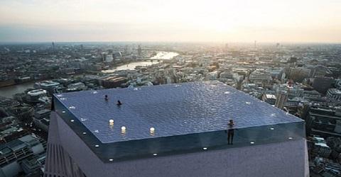Infinity Pool voor waaghalzen zonder hoogtevrees