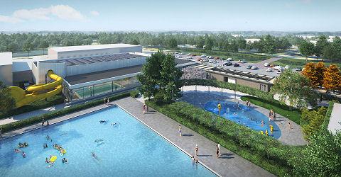 Eerste sportconcepten-zwembad van Nederland geopend