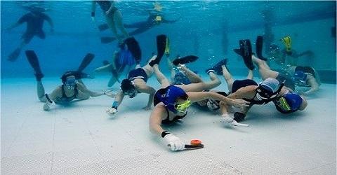 Recordpoging onderwaterhockey geslaagd