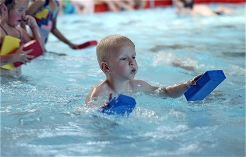 Schoolzwemmen vanwege unieke samenwerking
