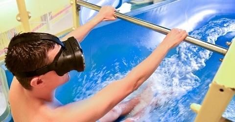 Virtual Reality doet zijn intrede bij waterglijbanen
