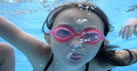 Er kan weer gezwommen worden…