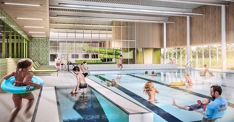 Tiel kan eerdaags zwemmen in een nieuw en duurzaam zwembad