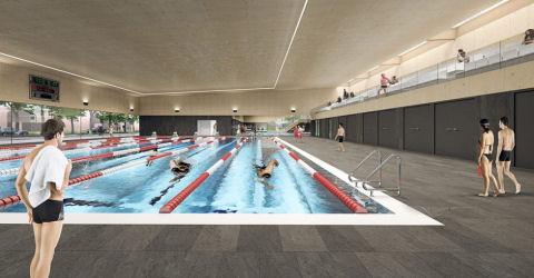 Nieuwe zwembad Valkenhuizen Arnhem gaat half juni open