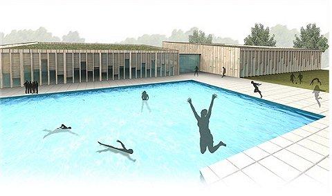Vernieuwde buitenzwembad van De Vijf Heuvels gaat open