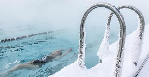 Winterzwemmen om toch open te kunnen gaan