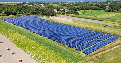 Plannen voor een zonnecollectorenveld in Doesburg
