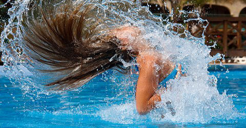 Een goeie naam verzinnen voor een zwembad is nog best lastig